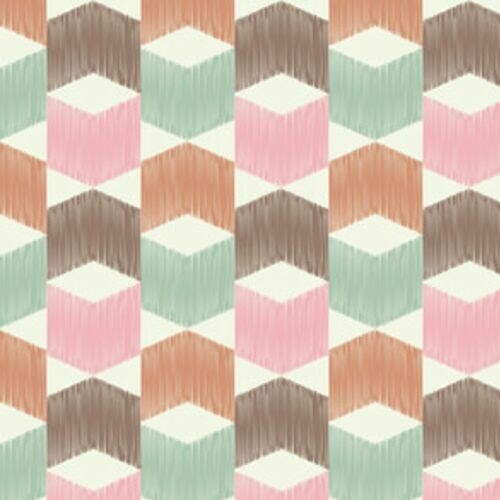 geometryczny-wzor-retro-3d-dekoracja-scienna-do-przedpokoju
