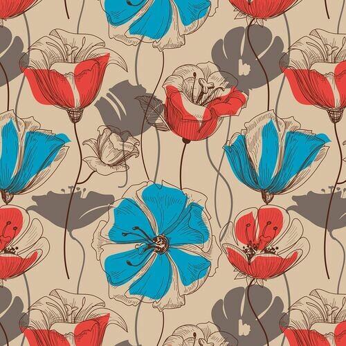 kwiaty-vintage-ozdoba