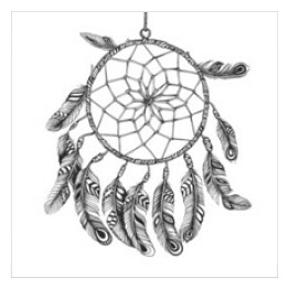 American Indian Dreamcatcher szamana