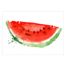 Watermelon vector logo design template. vitamins or food icon.