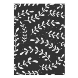 Hand Drawn Style Chalkboard Laurels Seamless Pattern