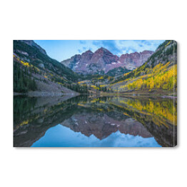 Maroon Bells Mountain w Kolorado