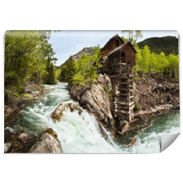 Crystal River Mill, White River National Forest, Kolorado, USA