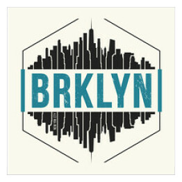 Grafika - Brooklyn, Nowy Jork