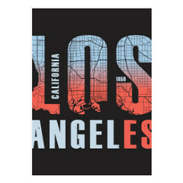 "Grafika ""Los Angeles"""