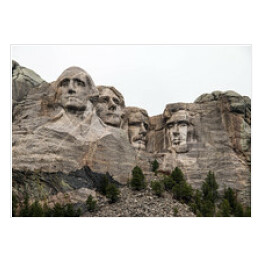 Mount Rushmore we mgle, Dakota