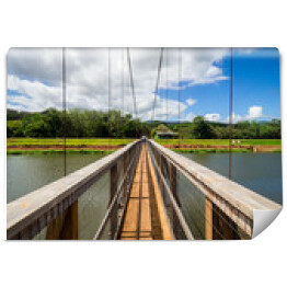 Swinging Bridge, Hanapepe, Kauai, Hawaje