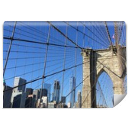 Brooklyn Bridge widok z mostu