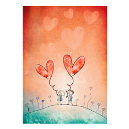 Love. Valentine card