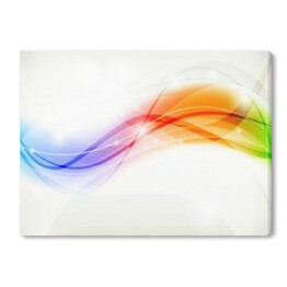 Rainbow Wave Design