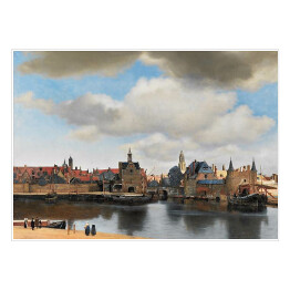 Jan Vermeer - View of delft, reprodukcja