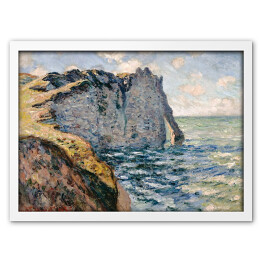 Claude Monet - The Cliff of Aval, Etrétat (reprodukcja)