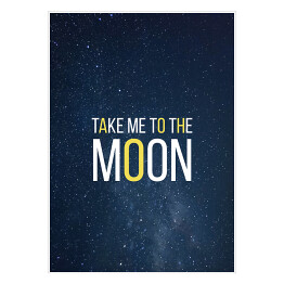 "Kosmiczny kot - ""Take me to the moon"""