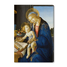 "Sandro Botticelli ""The Virgin and Child (The Madonna of the Book)"" reprodukcja"