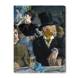 Edouard Manet - At the Café, reprodukcja