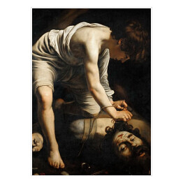 "Caravaggio ""David and Goliath"""