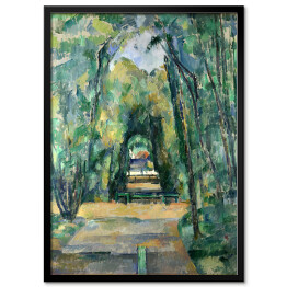 "Paul Cezanne ""Aleja w Chantilly"" - reprodukcja"