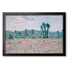 Claude Monet - Field (reprodukcja)