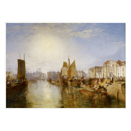 "Joseph Mallord William Turner ""Port w Dieppe"" - reprodukcja"