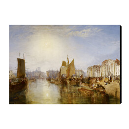Joseph Mallord William Turner - The Harbor of Dieppe, reprodukcja