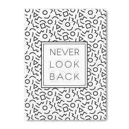 Typografia- never look back