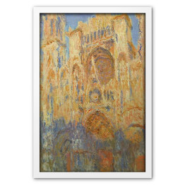 Claude Monet - Rouen Cathedral, Facad (Sunset) [reprodukcja]