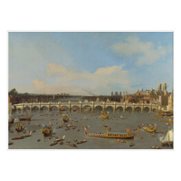 "Canaletto ""Most Westminster"" - reprodukcja"
