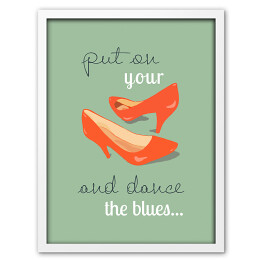 Ilustracja - Put your shoes and dance the blues - Bowie