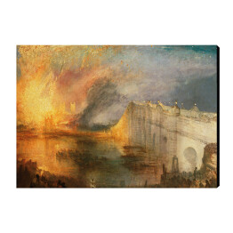 William Turner - The Burning of the Houses of Lords and Commons, reprodukcja