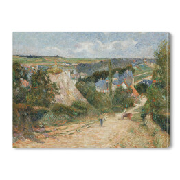 Paul_Gauguin - Entrance to the Village of Osny, reprodukcja