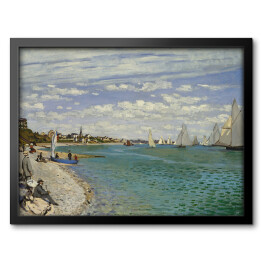 Claude Monet - Regatta at sainte adresse (reprodukcja)