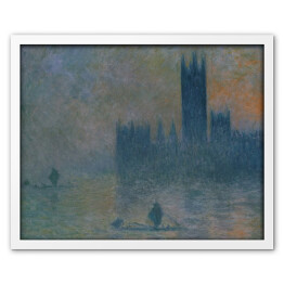 Claude Monet - The Houses of Parliament (reprodukcja)
