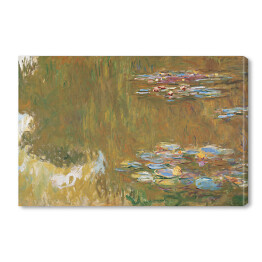 Claude Monet - The Water Lily Pond (reprodukcja)