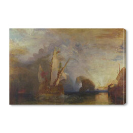 "William Turner ""Ulysses szydzący z Polyphemusa"" - reprodukcja"