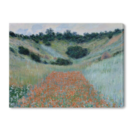 Claude_Monet - Poppy Field in a Hollow near Giverny (reprodukcja)