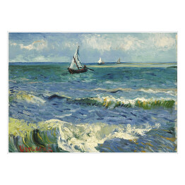 Claude Monet - Fishing boats on the beach at saintes maries (recenzja)