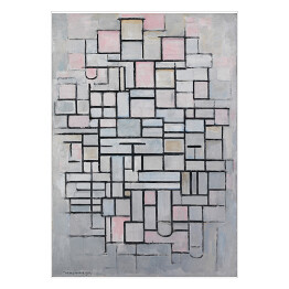"Piet Mondriaan ""Composition no. IV"""