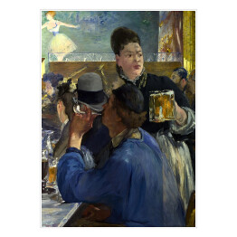 Edouard Manet - Corner of a Cafe-Concert, reprodukcja