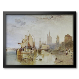 Cologne the arrival of a packet boat - William Turner, reprodukcja