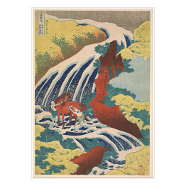 "Hokusai Katsushika ""Yoshitsune Falls from the series Famous Waterfalls in Various Provinces"""