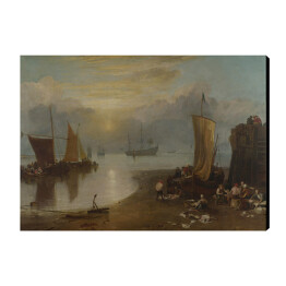 William Turner - Sun Rising through Vapour, reprodukcja
