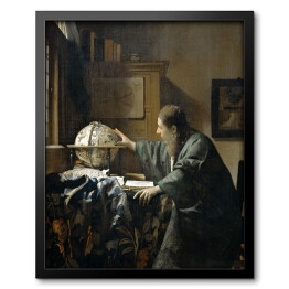 Jan Vermeer - The Astronomer, reprodukcja