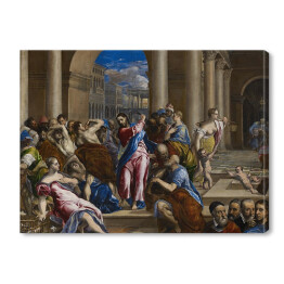 "El Greco ""Christ Driving the Money Changers"" reprodukcja"