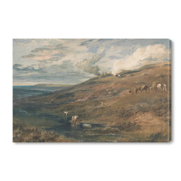 "William Turner ""Dartmoor - źródło rzek Tamar i Torridge"" - reprodukcja"