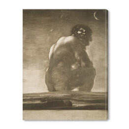 "Francisco Goya ""Seated Giant"""