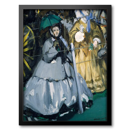 Édouard Manet - Women at the Races, reprodukcja