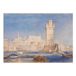 Joseph Mallord William Turner - Rhodes, reprodukcja