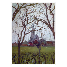 "Piet Mondriaan ""St. Jacob's church, Winterswijk"""