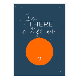 "Ilustracja - ""Is there a life...?"" - Bowie"
