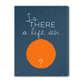 Ilustracja - Is there a life...? - Bowie
